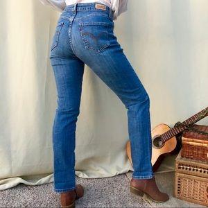 Levi's mid rise skinny jeans sz 6 M